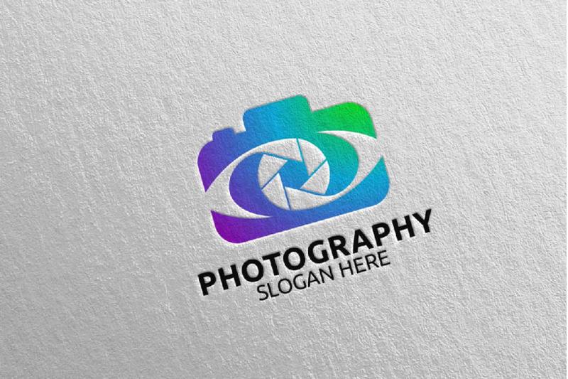 abstract-camera-photography-logo-23