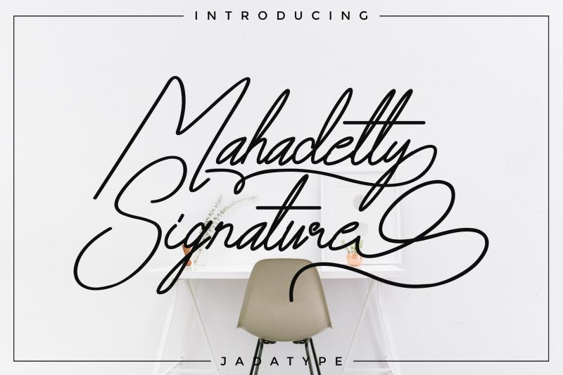 mahadetty-signature