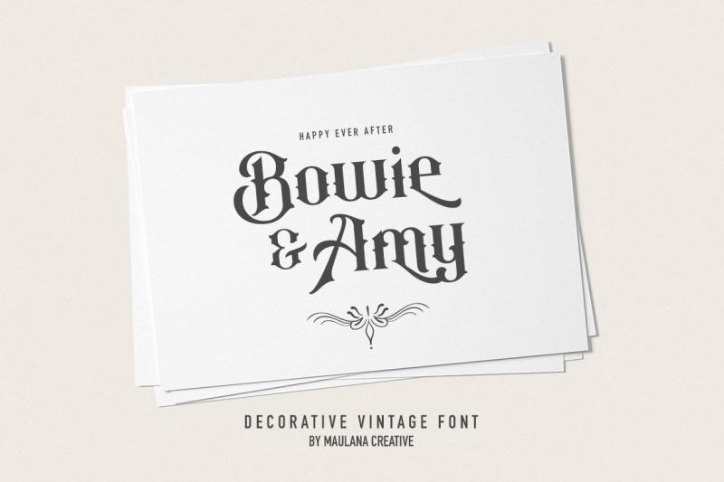 anthique-vintage-typeface