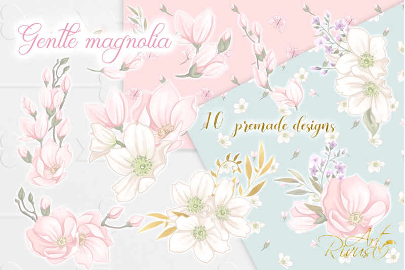 magnolia-flowers-wedding-clipart-png-download-spring-floral-graphics
