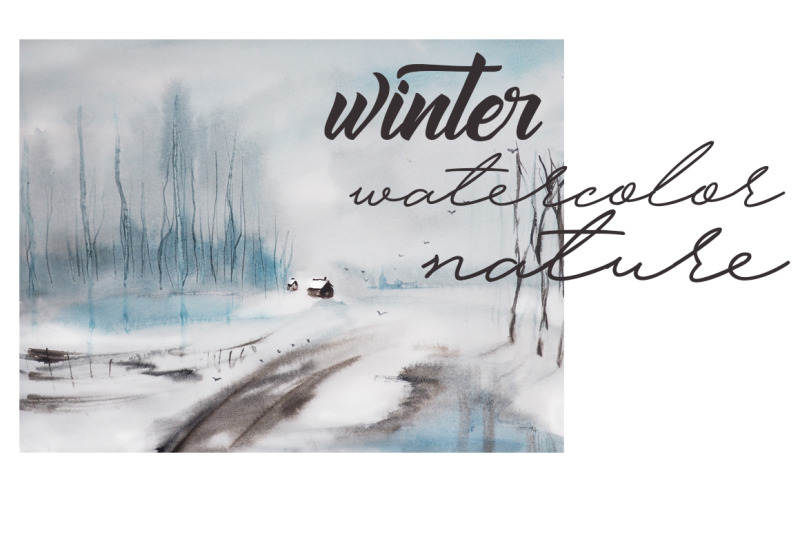 christmas-and-new-year-winter-illustration-watercolor-winter-landsc