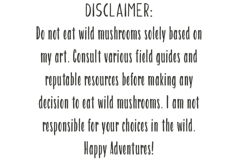 watercolor-wild-edible-mushrooms-clipart