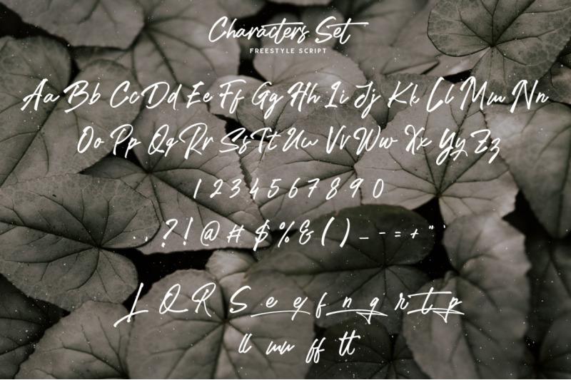 freestyle-handwritten-script