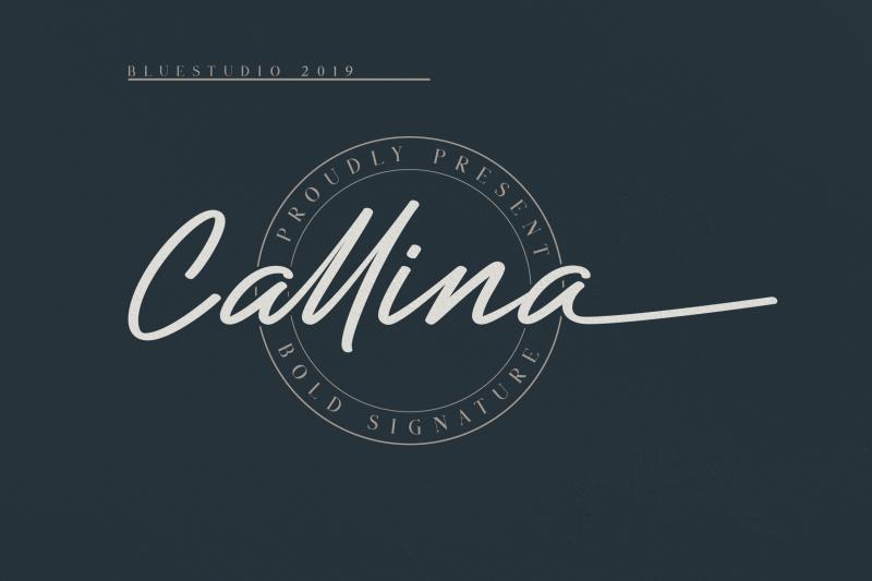 callina-bold-signature
