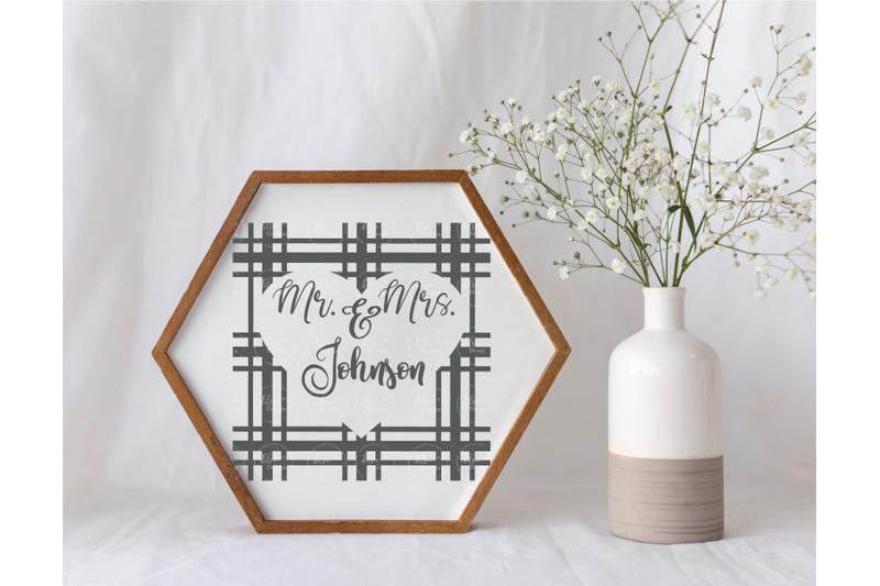 mr-and-mrs-plaid-monogram-svg