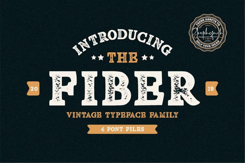 fiber-vintage-serif-font