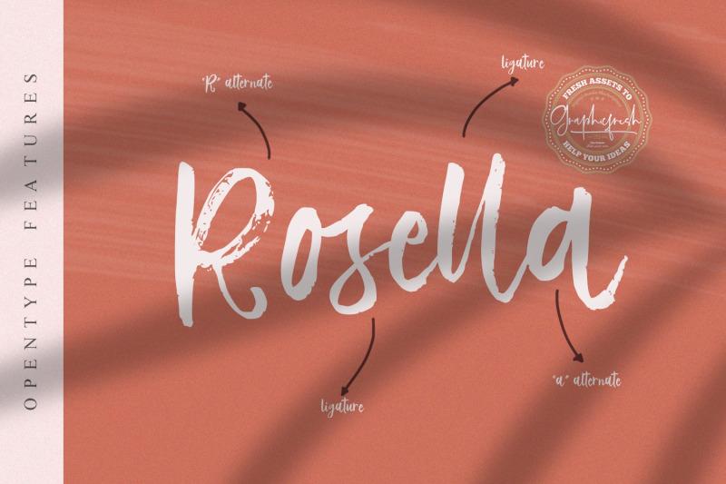 vetto-rosella-handwritting-font