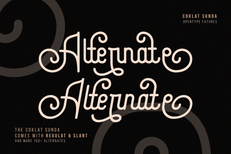 coklat-sunda-the-monoline-font