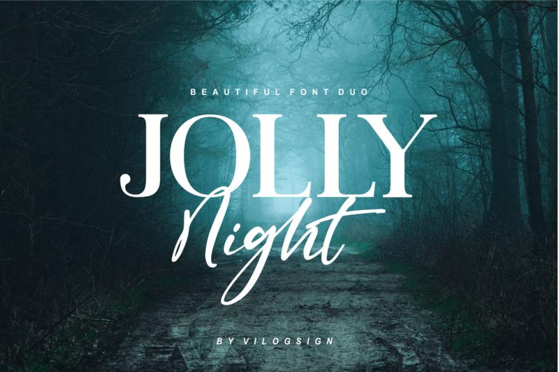 jolly-night-font-duo