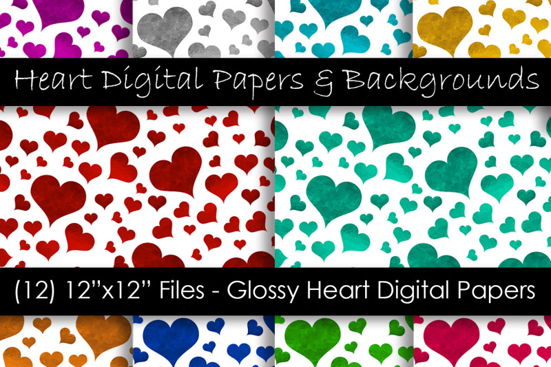 glossy-color-heart-patterns