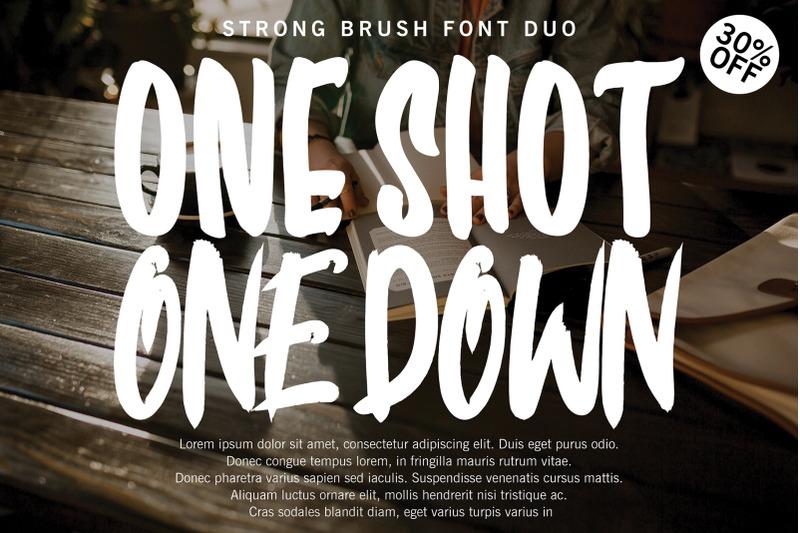 one-shot-font-duo