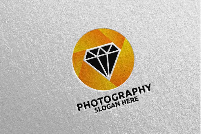 diamond-camera-photography-logo-66