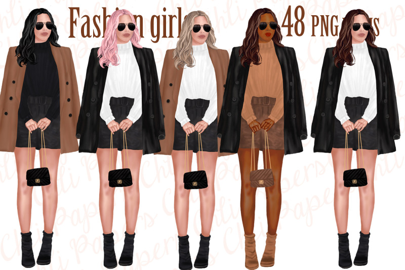 fashion-girls-clipart-bridesmaid-clipart-planner-girls