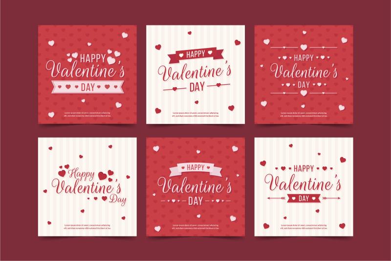valentine-s-day-sale-instagram-post-collection