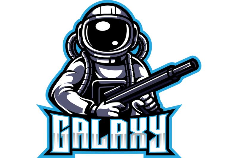 galaxy-astronaut-esport-mascot-logo