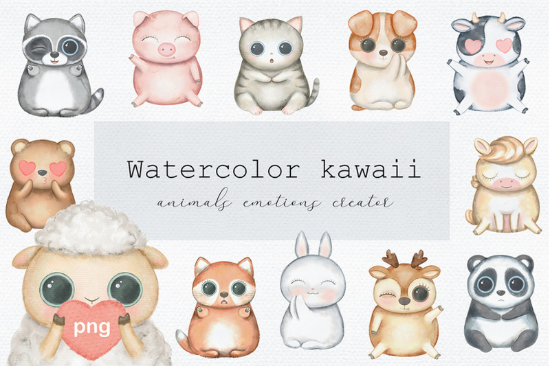 watercolor-kawaii