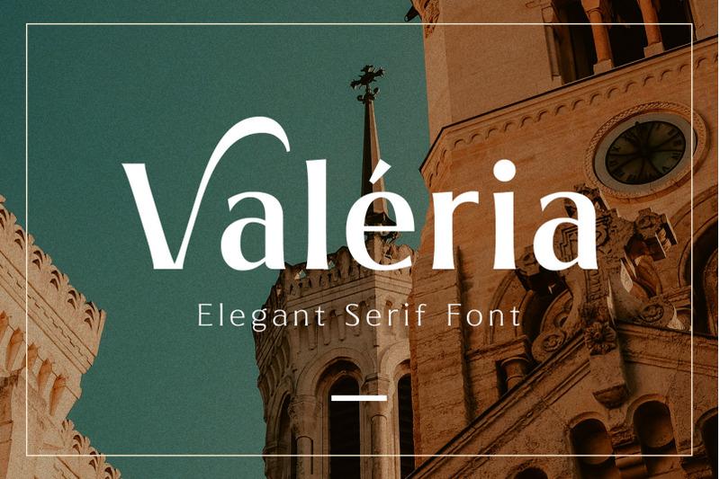 valeria-elegant-serif