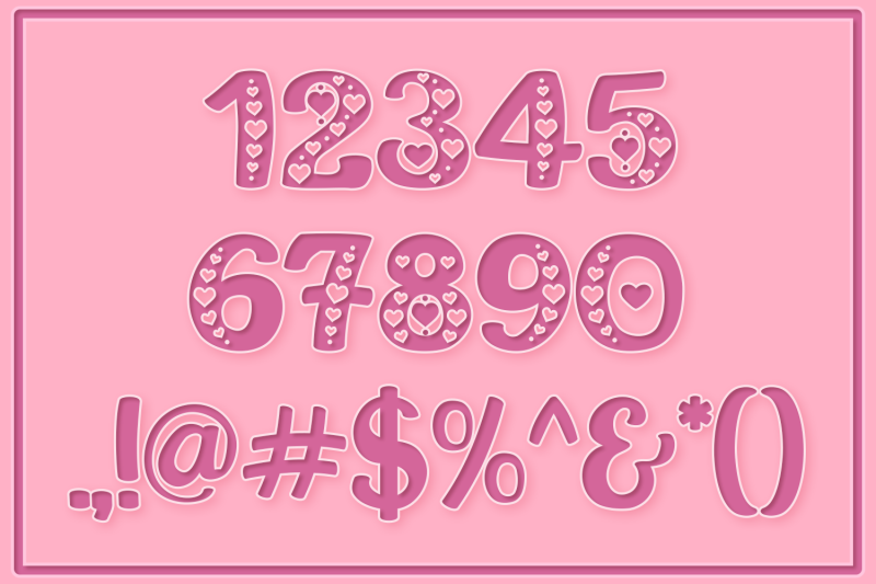 this-is-love-valentine-039-s-craft-font
