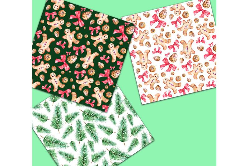 christmas-winter-watercolor-digital-paper-pack-seamless-patterns