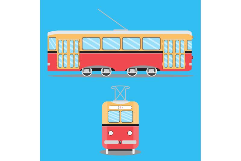 retro-tram-flat
