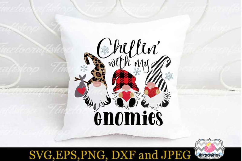 valentine-chillin-with-my-gnomies-buffalo-plaid-svg-zebra-svg