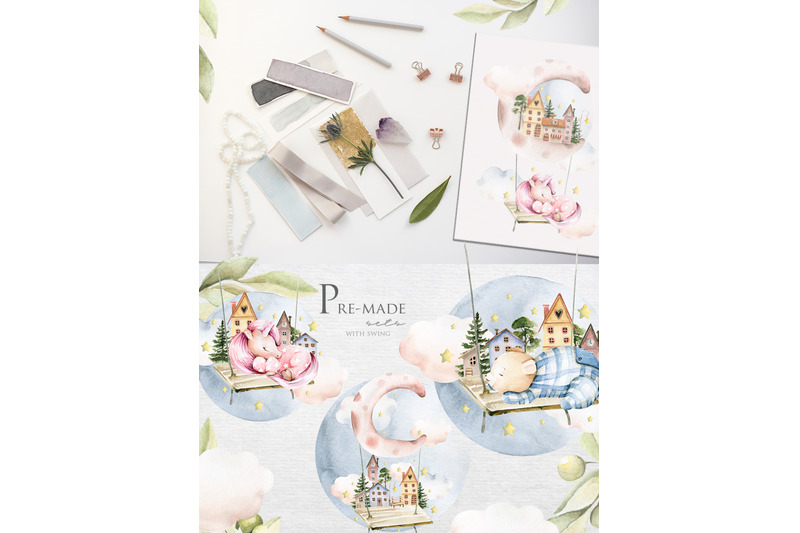 dream-in-the-clouds-watercolor-collection