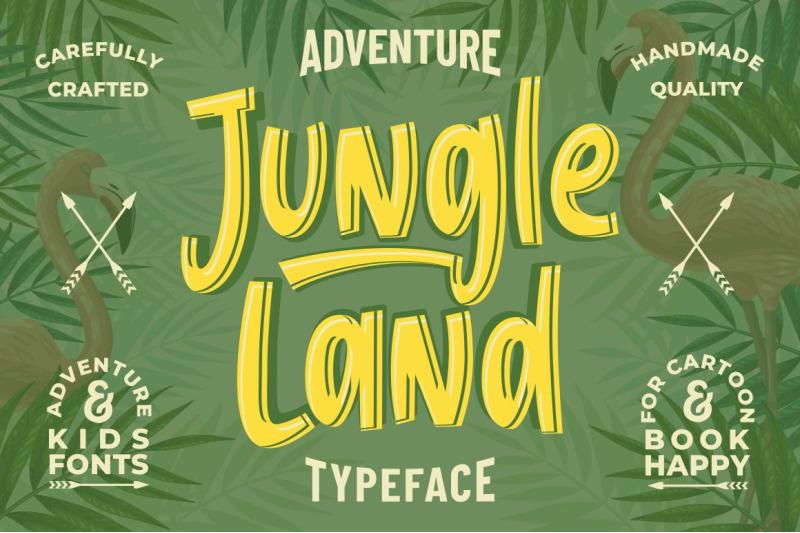 jungle-land-kids-typeface
