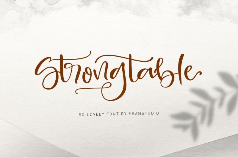 strong-table