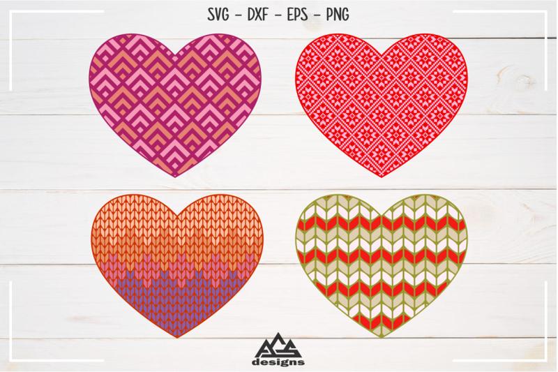 love-heart-knitted-pattern-valentine-svg-design