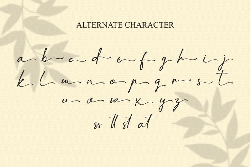 amatins-script-handwritten-font