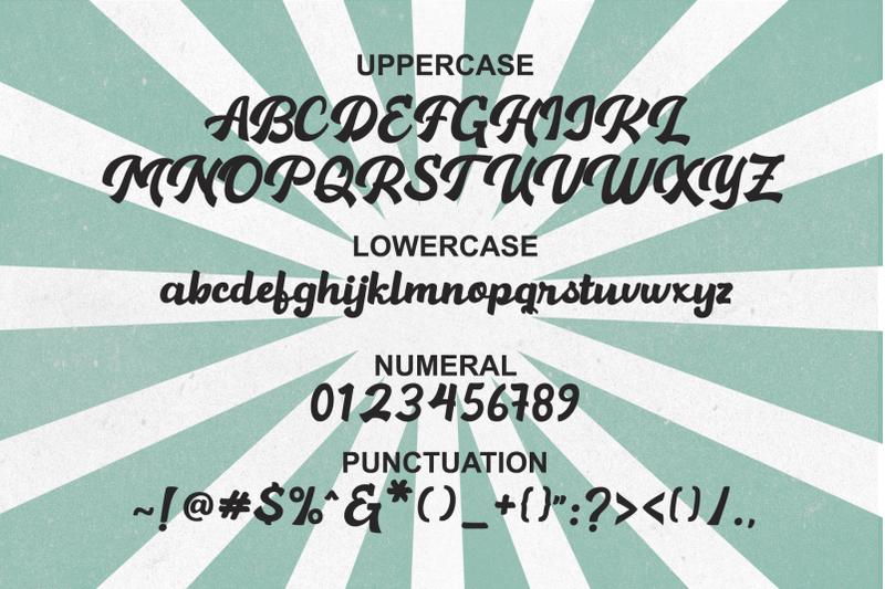 hamelin-retro-script-font