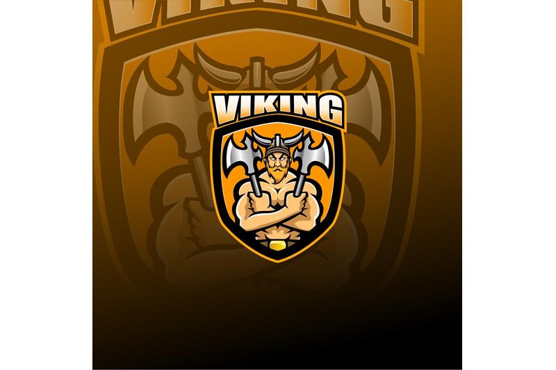 viking-norseman-esport-mascot-logo
