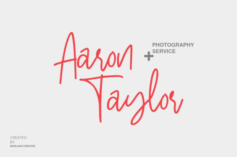 stuborn-modern-handwritten-font