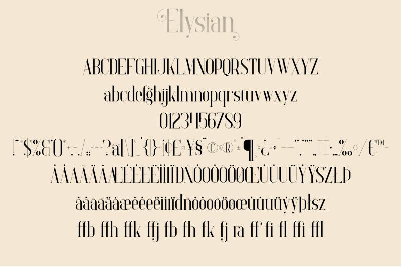 elysian-serif-font