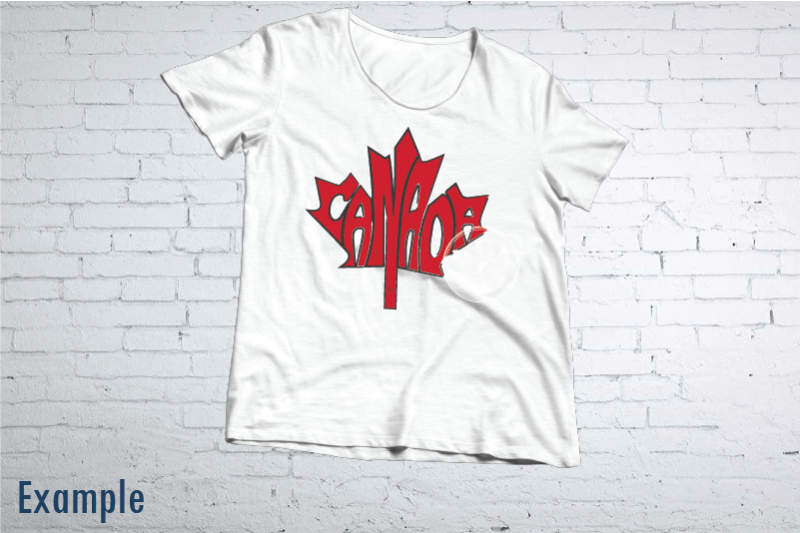 canada-word-art-in-maple-leaf-shape-with-black-outline-svg-dxf-png