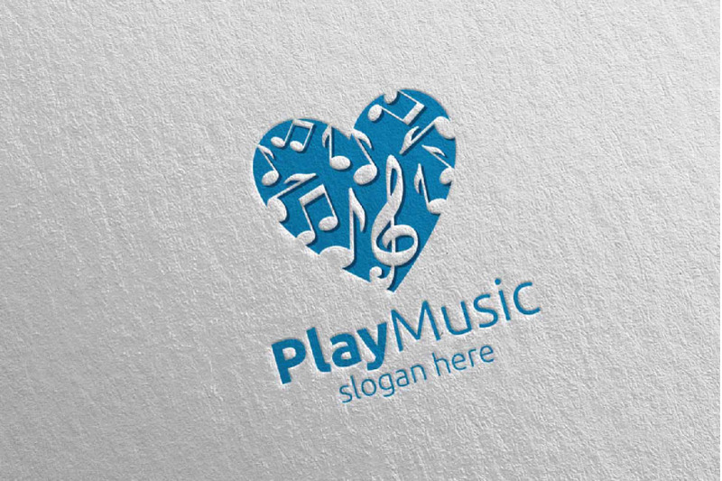 love-music-logo-with-play-note-concept