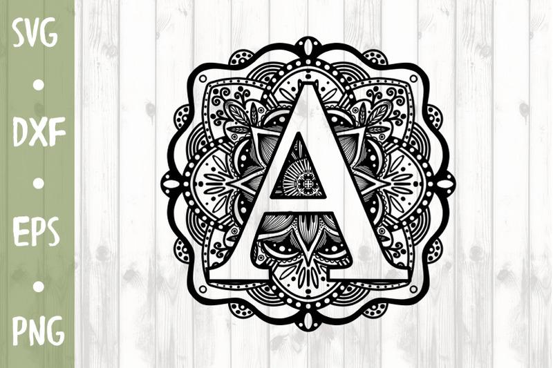 letter-a-svg-cut-file