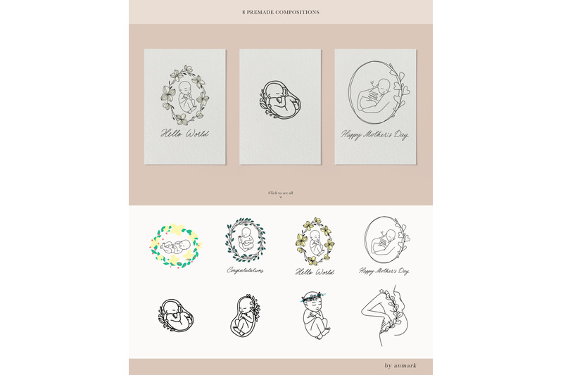 pure-love-line-art-collection