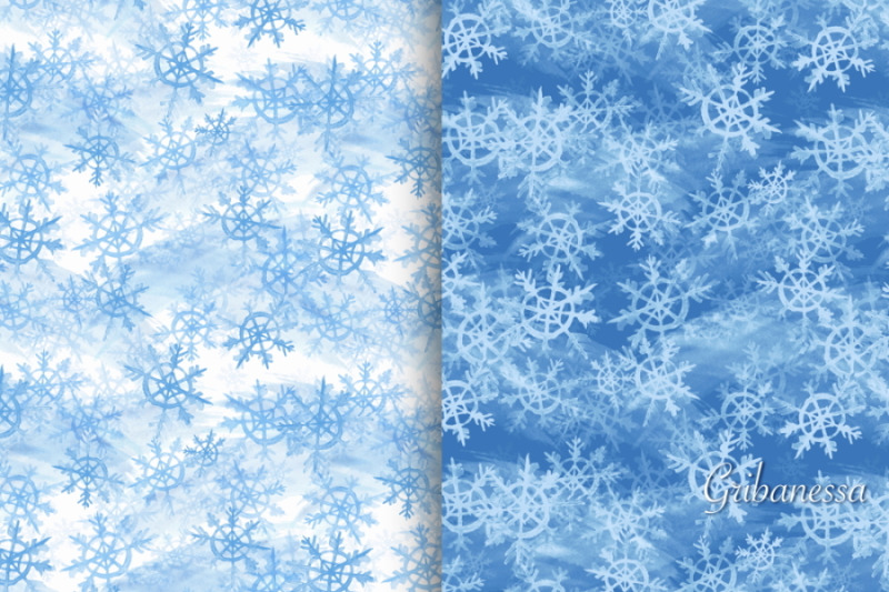 patterns-with-snowflakes