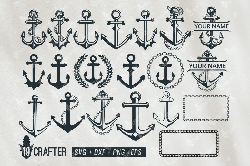 anchor-ship-svg-bundle