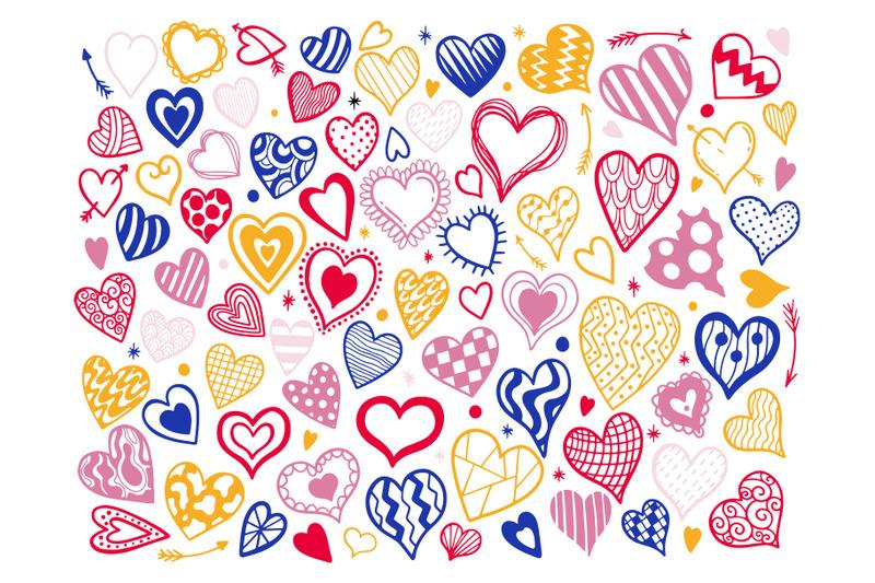 heart-color-set-doodle