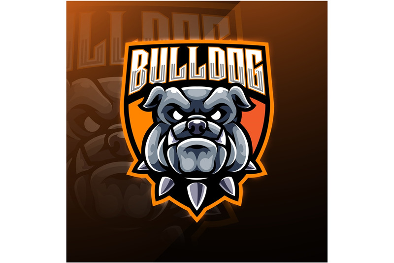 bulldog-head-esport-mascot-logo