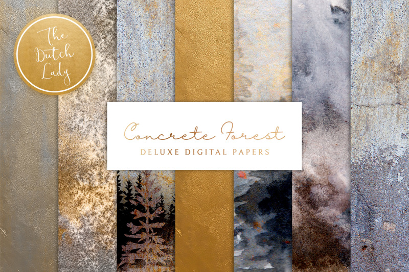 digital-backgrounds-amp-papers-concrete-forest