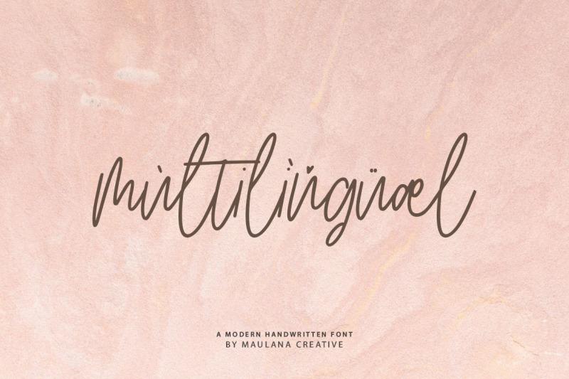 artlines-modern-handwritten-font