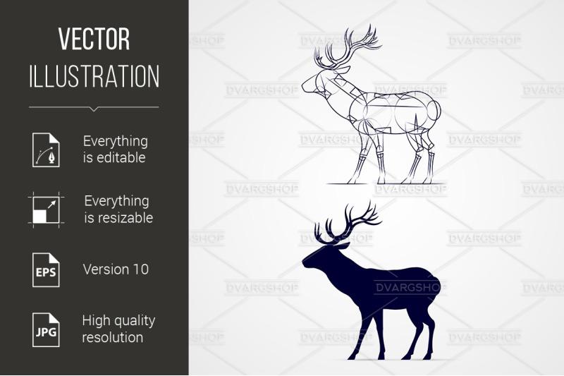 quot-deer-silhouette-quot