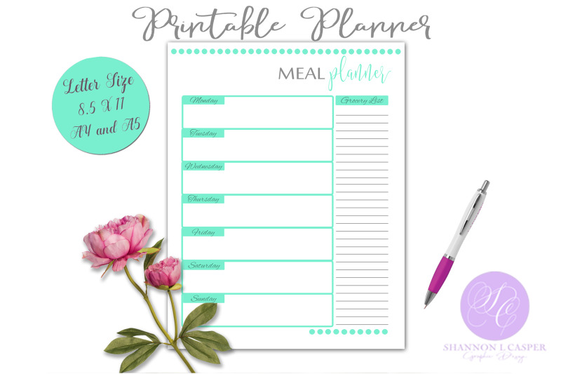 meal-planner-printable-page