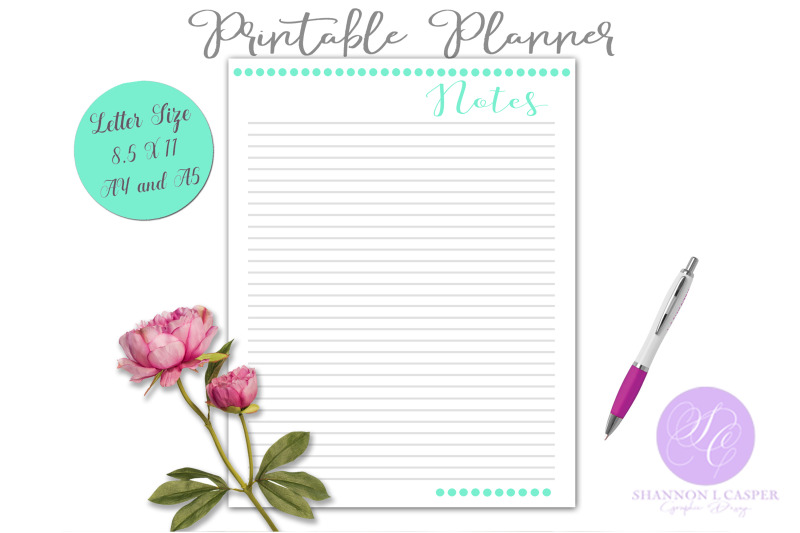 printable-notes-planner-page