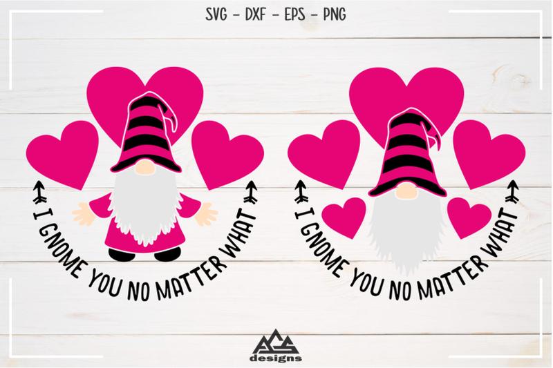 Download Love Gnome Valentine Gnome Svg Design By AgsDesign ...