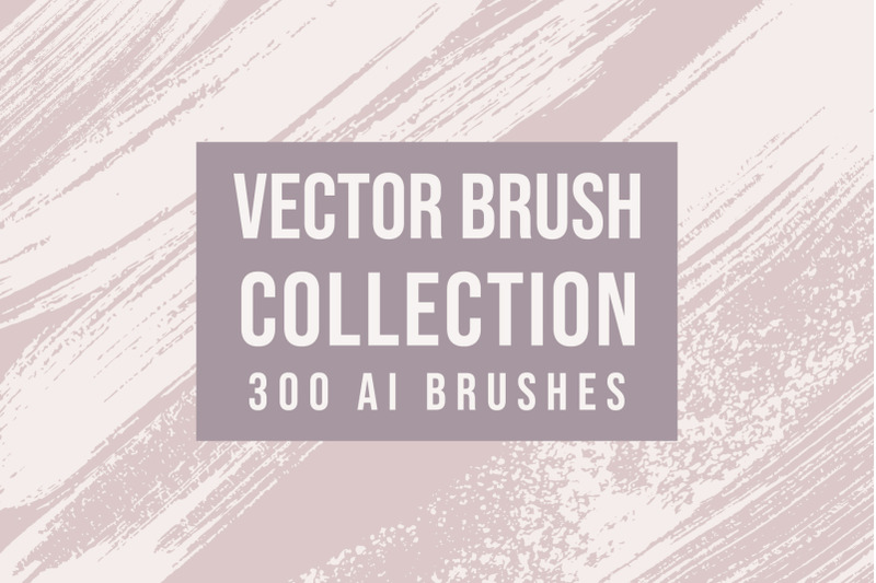 300-vector-brushes-collection
