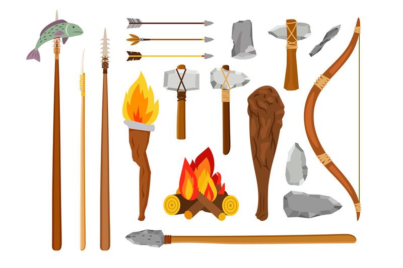 cartoon-stone-age-tools